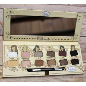 THEBALM Nude Tude Neutral 12 Eyeshadow Palette